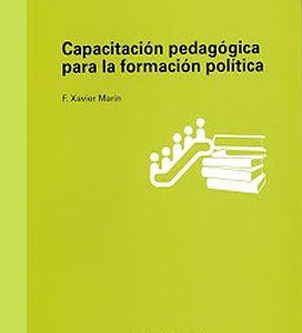 Libro Capacitación pedagógica para la formación política