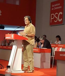 Xavier Marín en el Consell Nacional de 2016